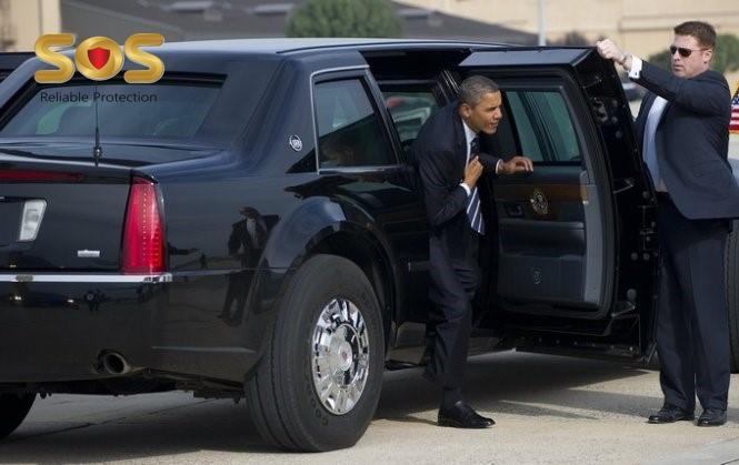 Siêu xe quái thú bảo vệ tổng thống Mỹ