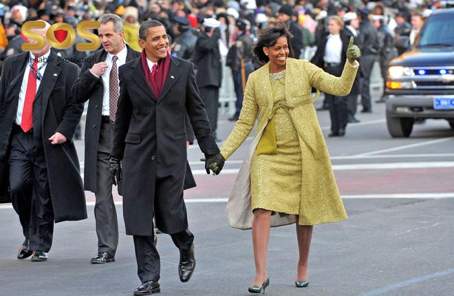 Hàng rào an ninh của ông Barack Obama